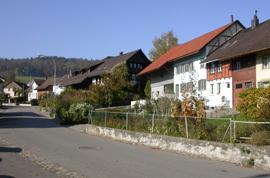 Bauernhäuser im Dorfkern